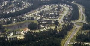 Towne Lake Aerial